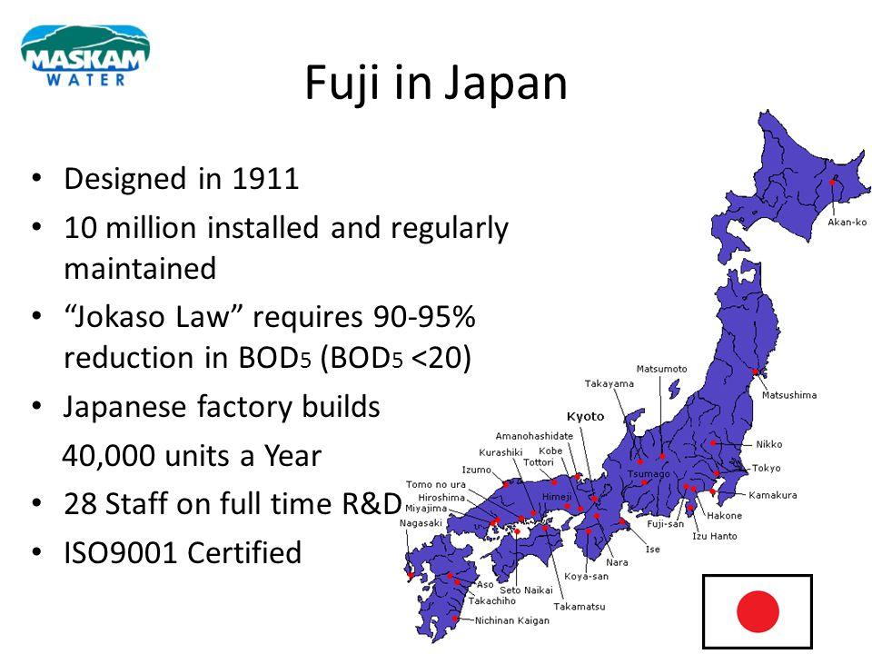 Fuji in Japan Designed in 1911