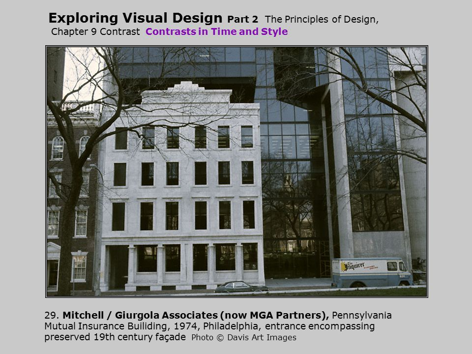 Exploring Visual Design Part 2 The Principles of Design, Chapter 9 Contrast Contrasts in Time and Style