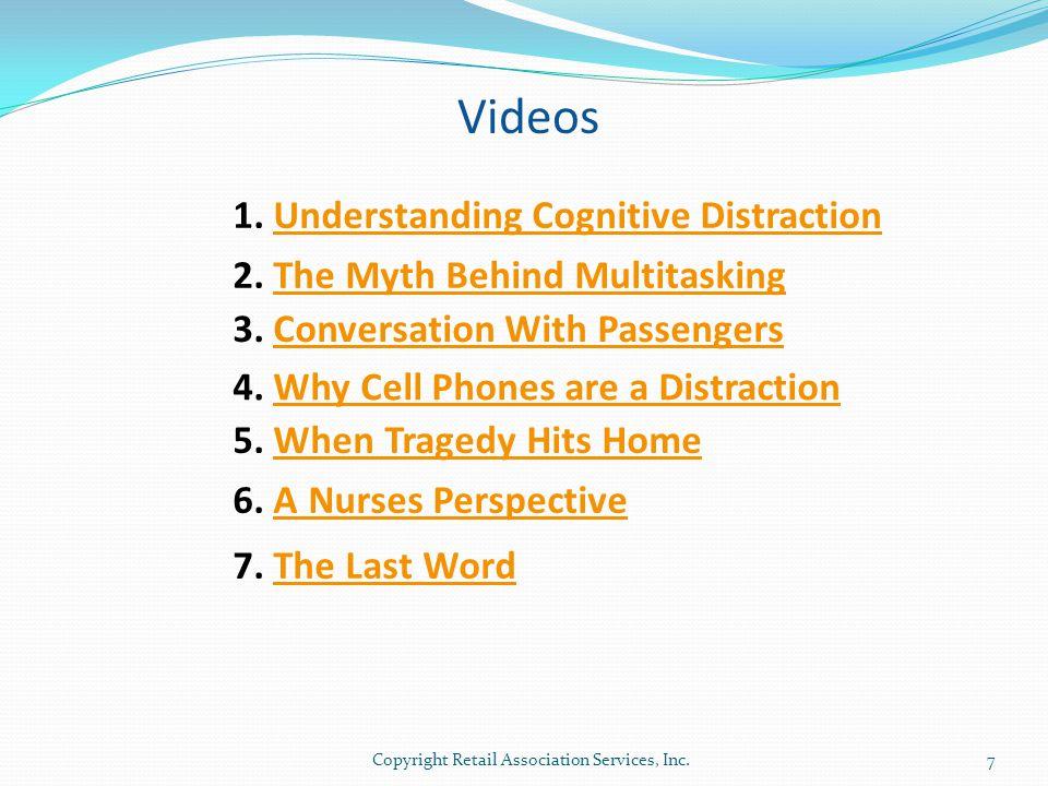Videos 1. Understanding Cognitive Distraction