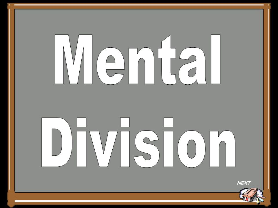 Mental Division NEXT