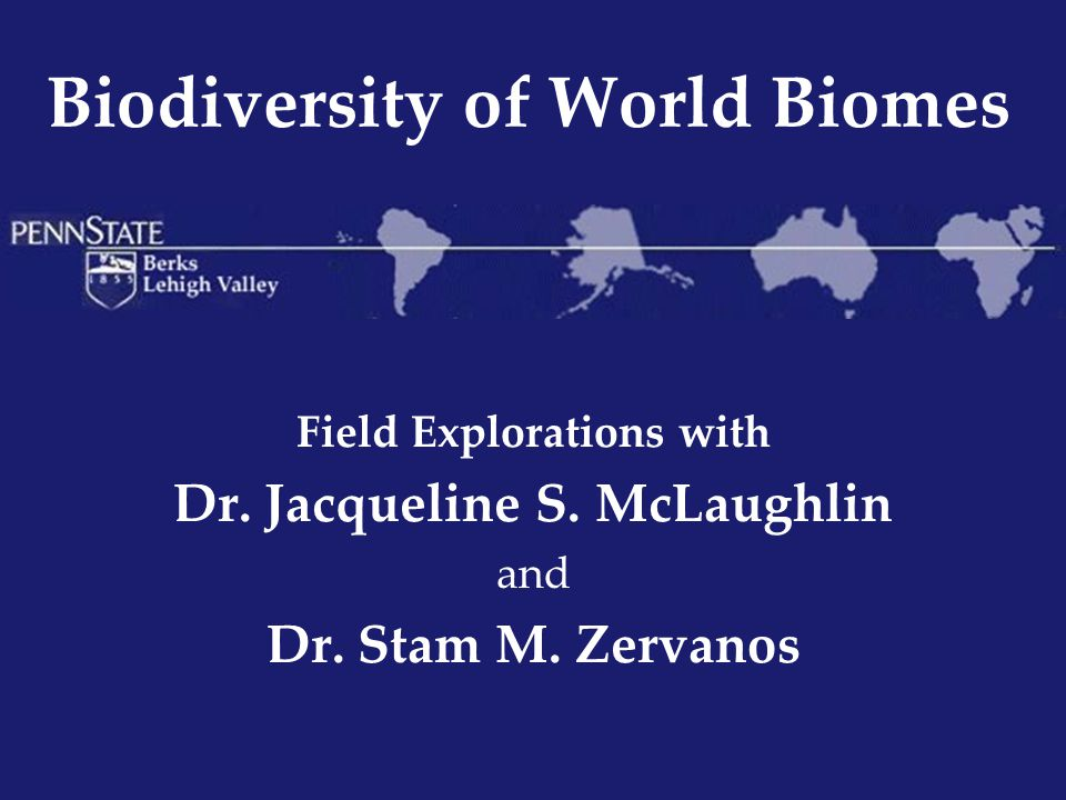 Biodiversity of World Biomes