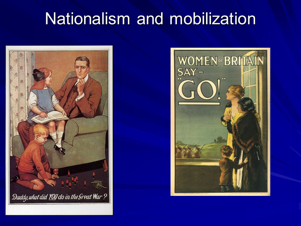 Nationalism and mobilization