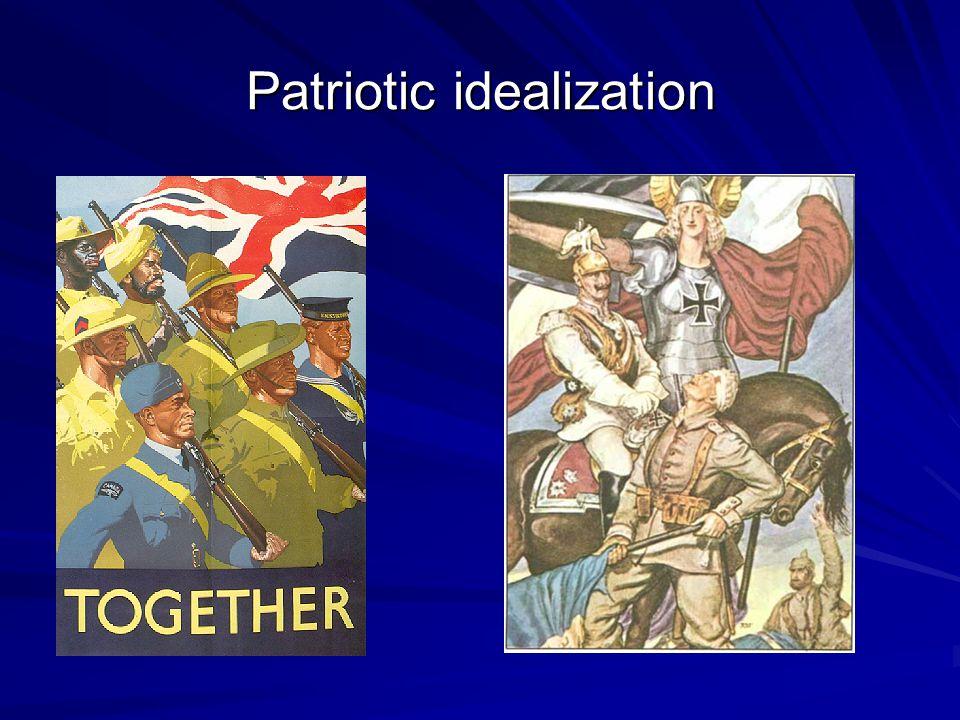 Patriotic idealization