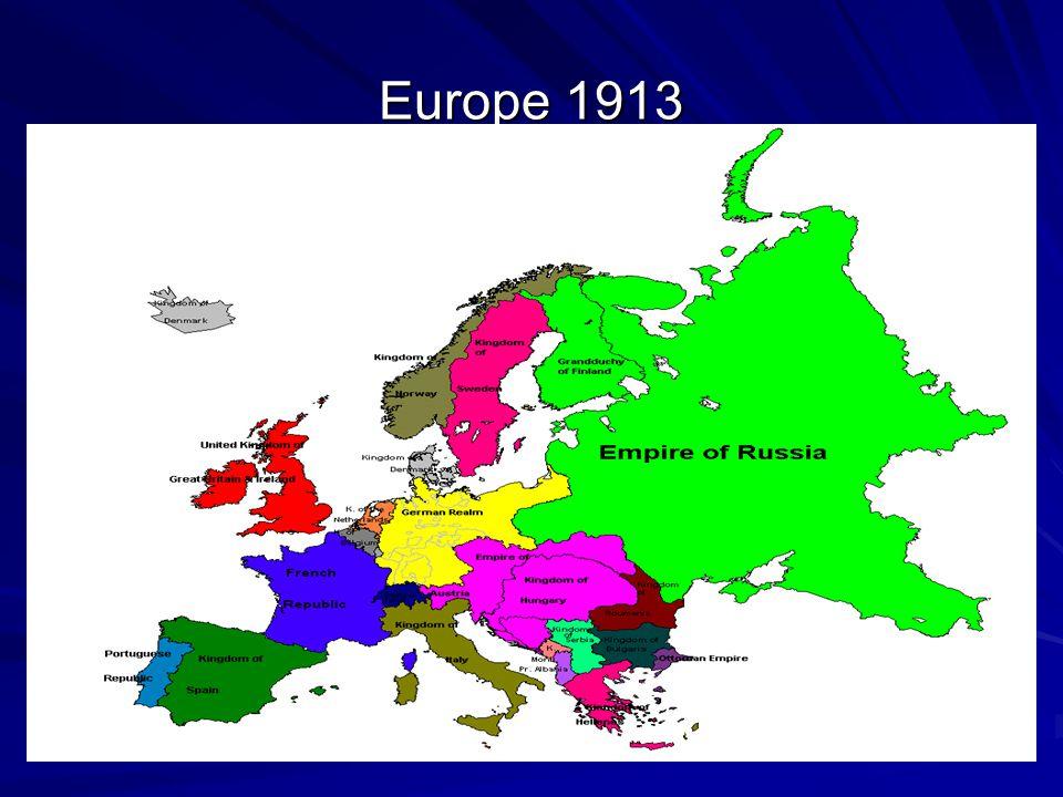 Europe 1913