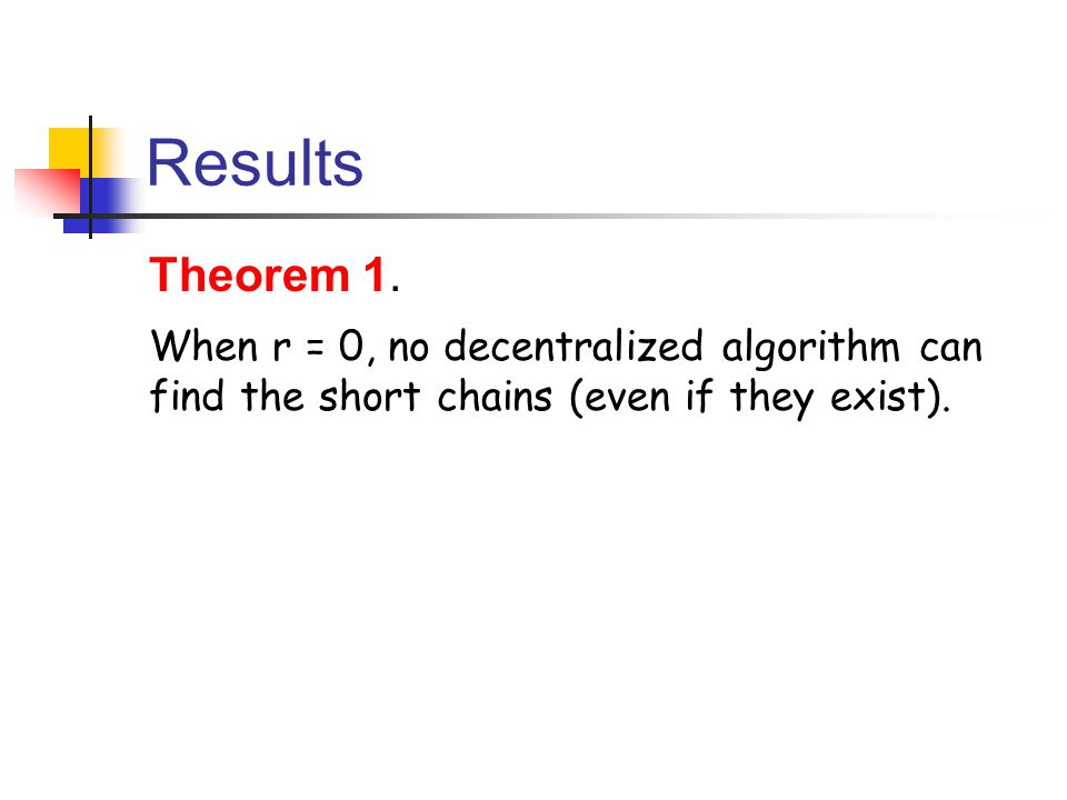 Results Theorem 1.
