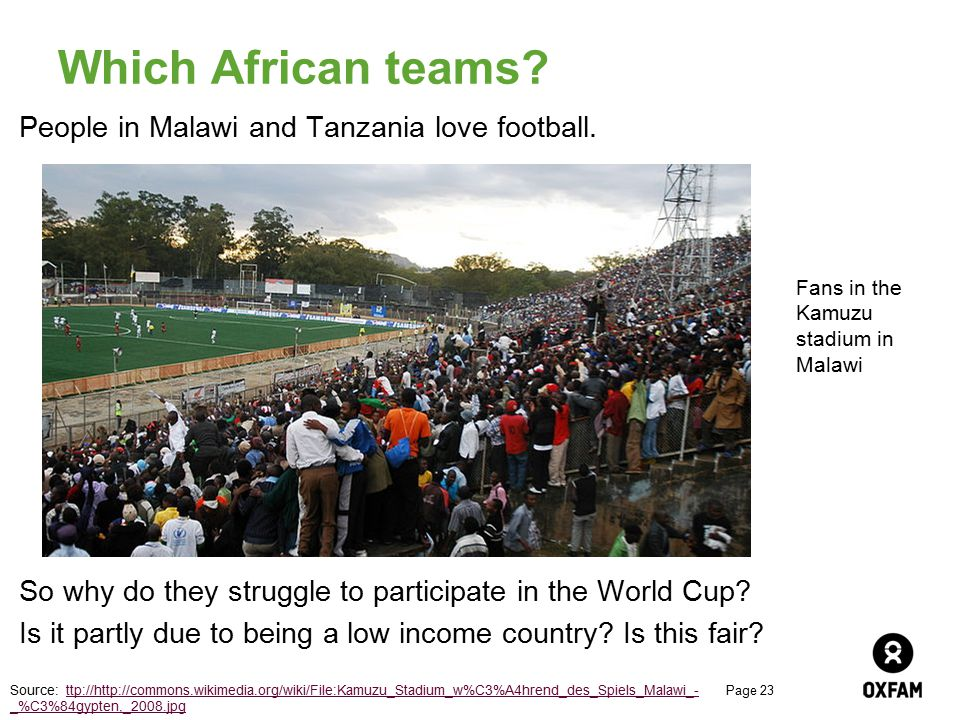 Which African teams