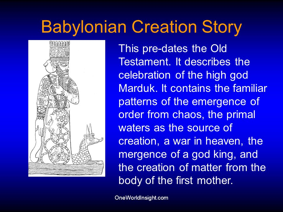 Babylonian Creation Story