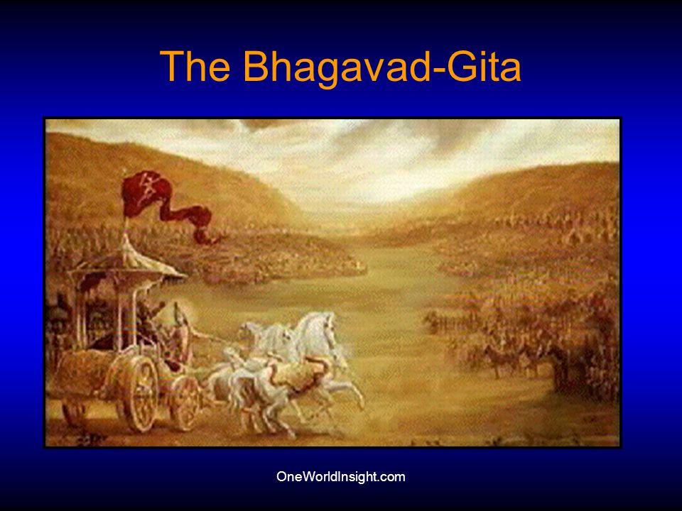 The Bhagavad-Gita OneWorldInsight.com
