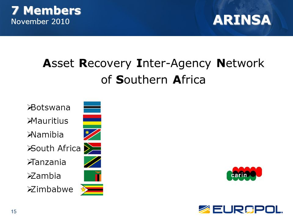 Asset Recovery Inter-Agency Network