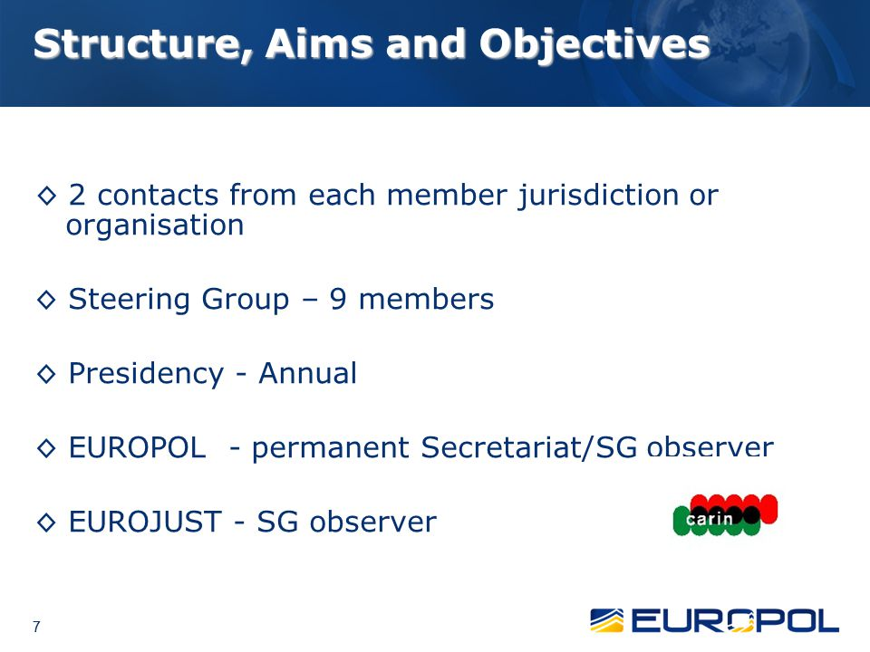 Structure, Aims and Objectives