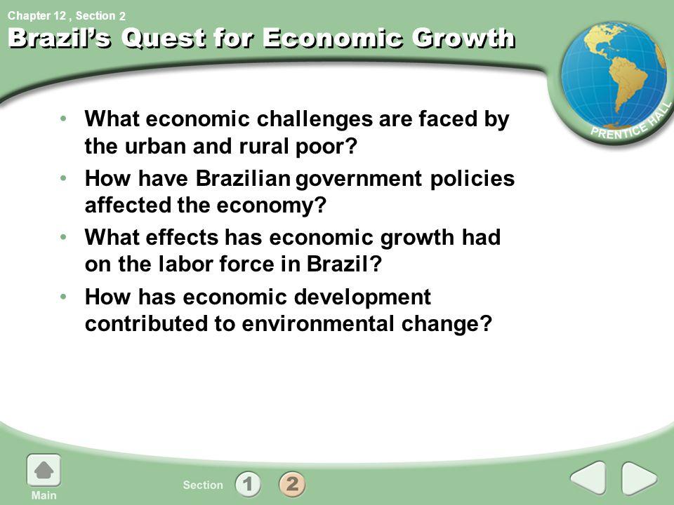 Brazil's Quest for Economic Growth