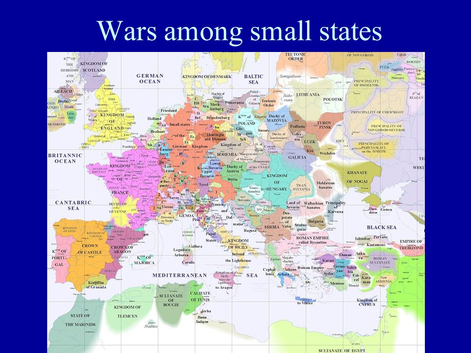 Wars among small states