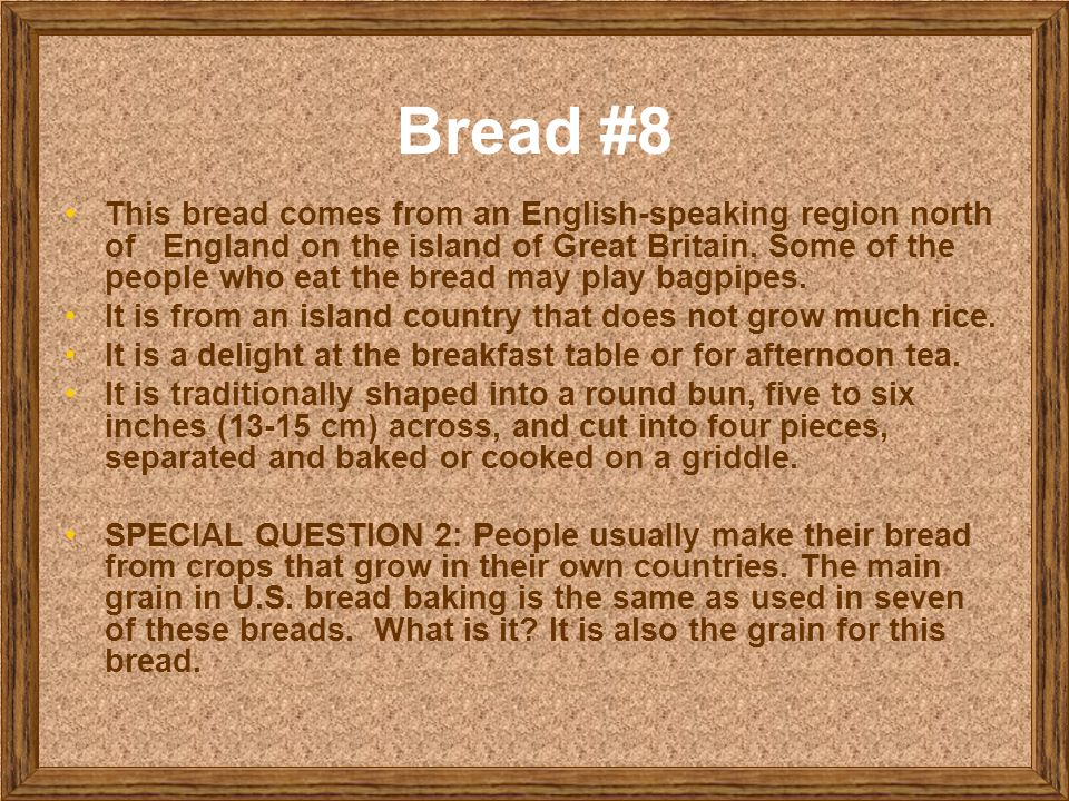 Bread #8