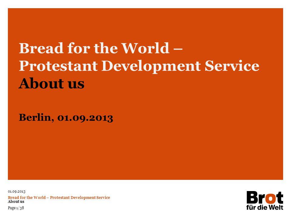 Protestant Development Service About us