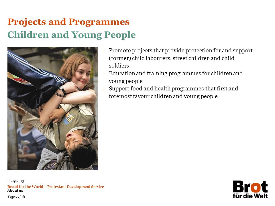 Projects and Programmes Children and Young People