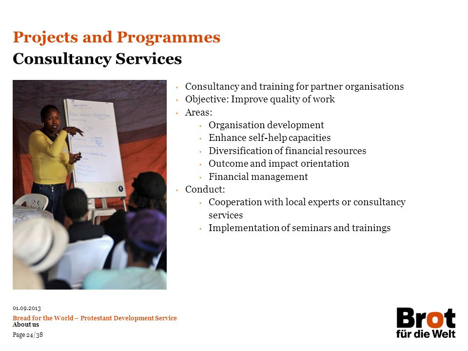 Projects and Programmes Consultancy Services