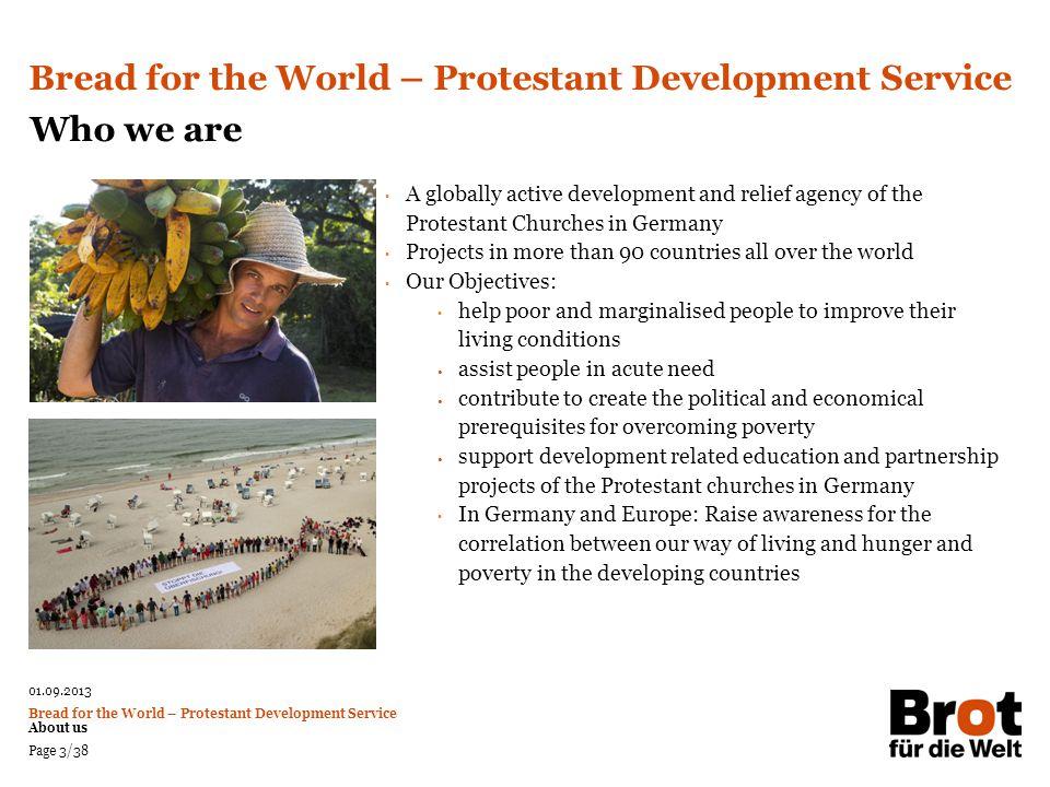 Bread for the World – Protestant Development Service