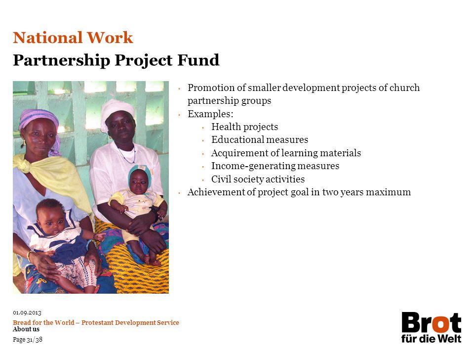 Partnership Project Fund