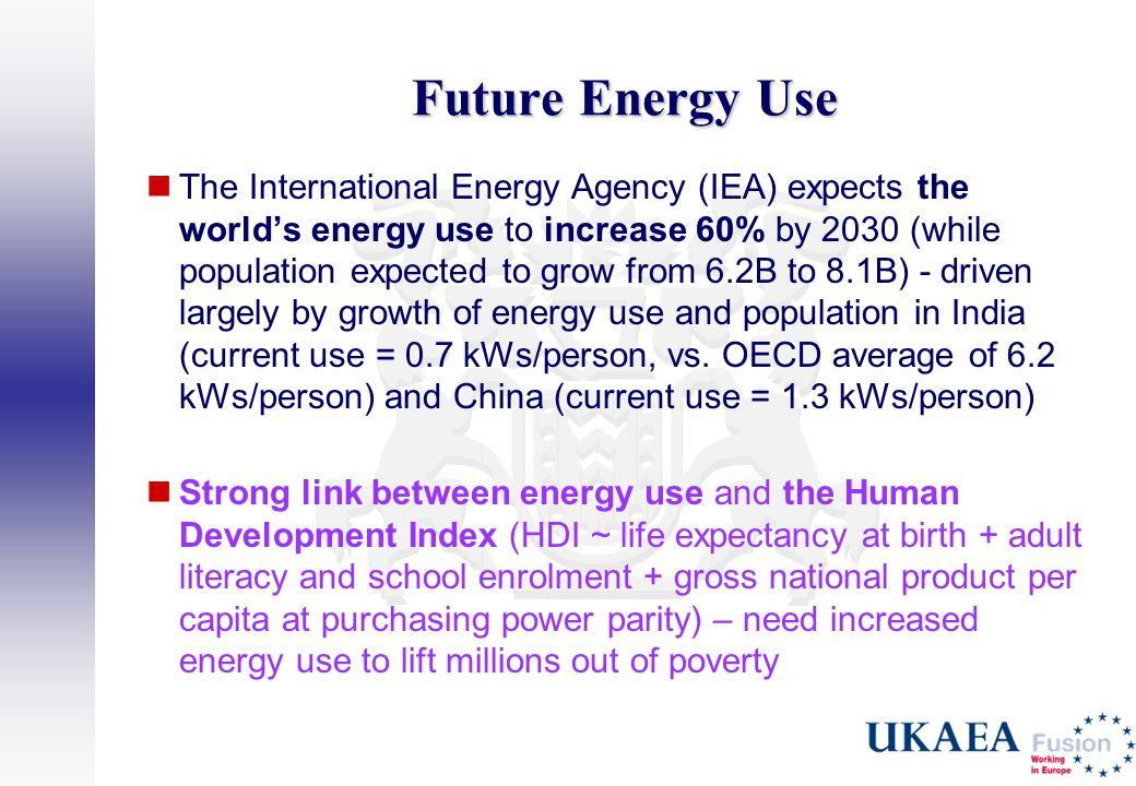 Future Energy Use
