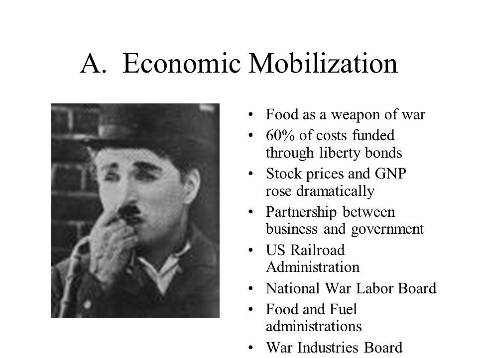 A. Economic Mobilization