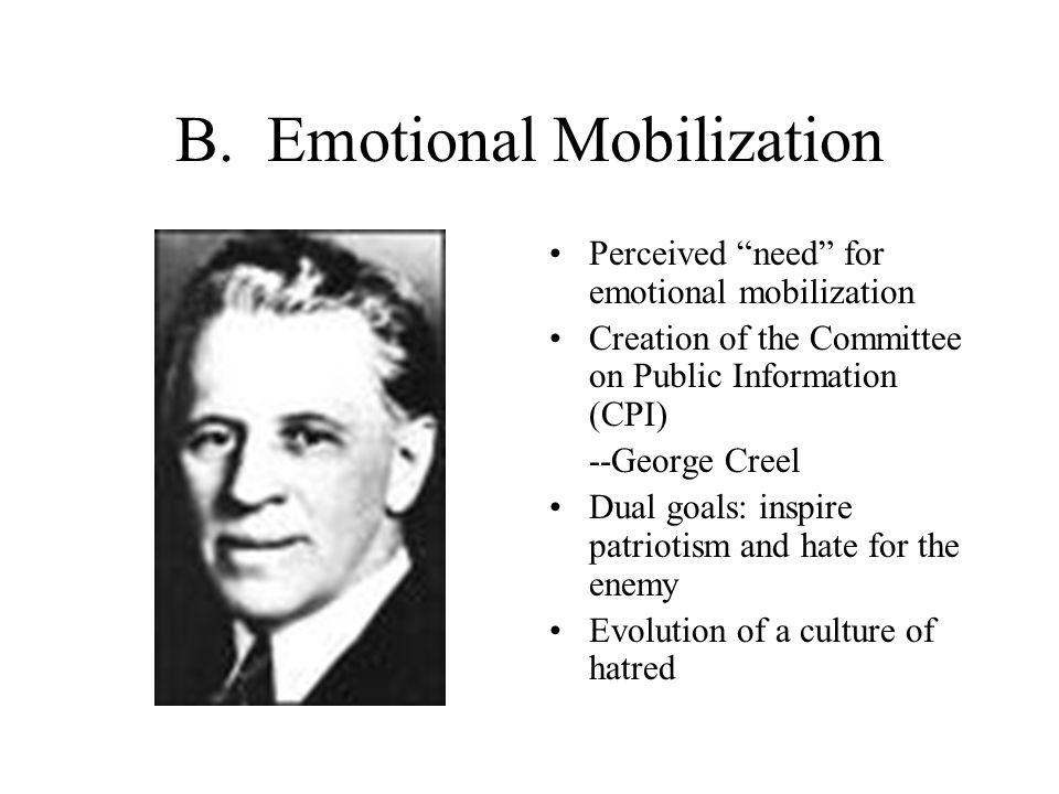 B. Emotional Mobilization