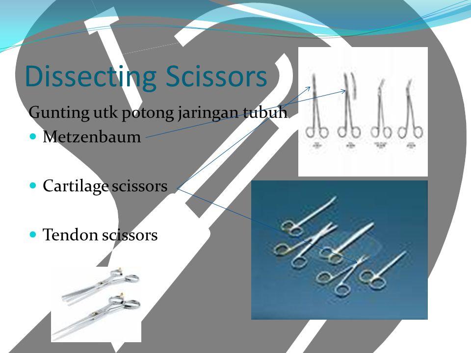 Dissecting Scissors Gunting utk potong jaringan tubuh Metzenbaum