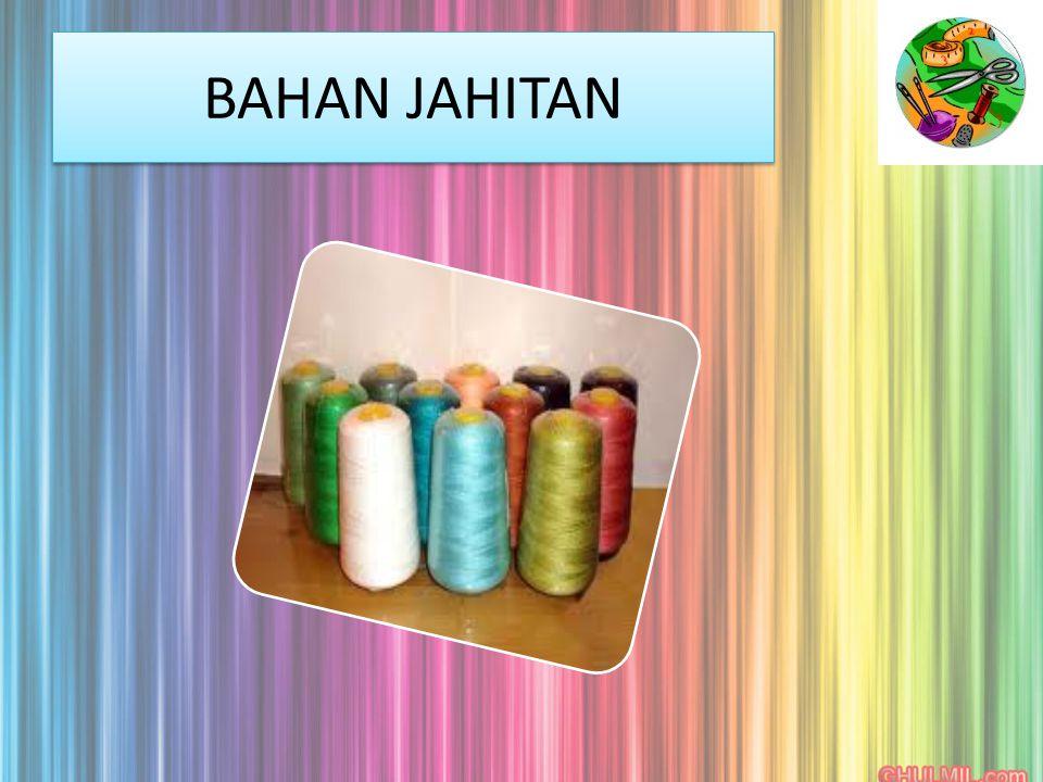 BAHAN JAHITAN