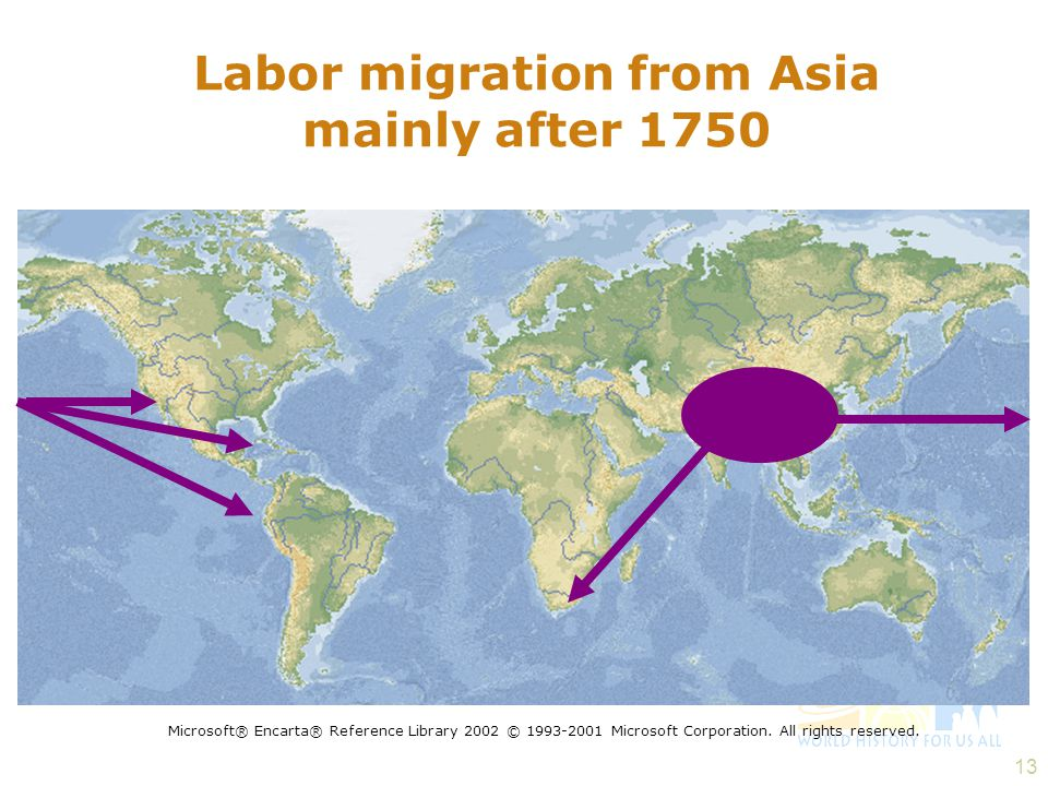Labor migration from Asia