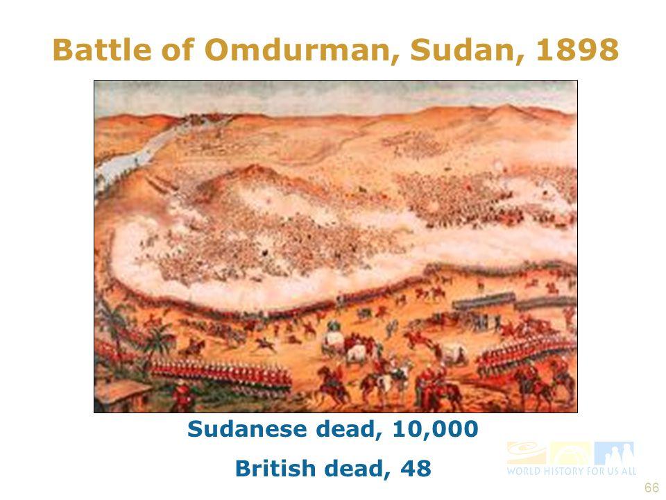 Battle of Omdurman, Sudan, 1898