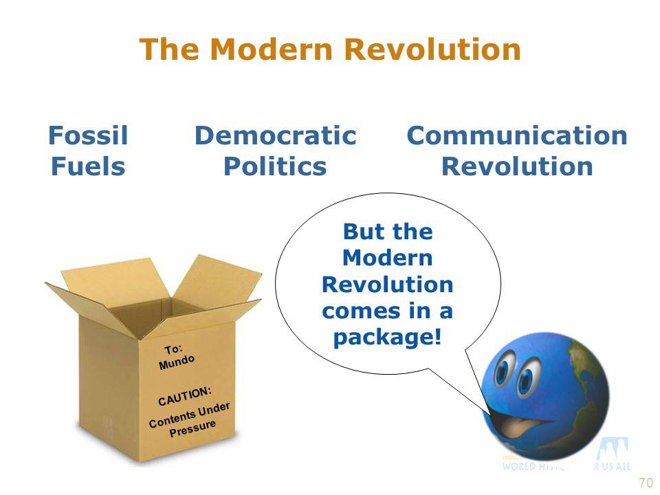 The Modern Revolution Fossil Fuels Democratic Politics