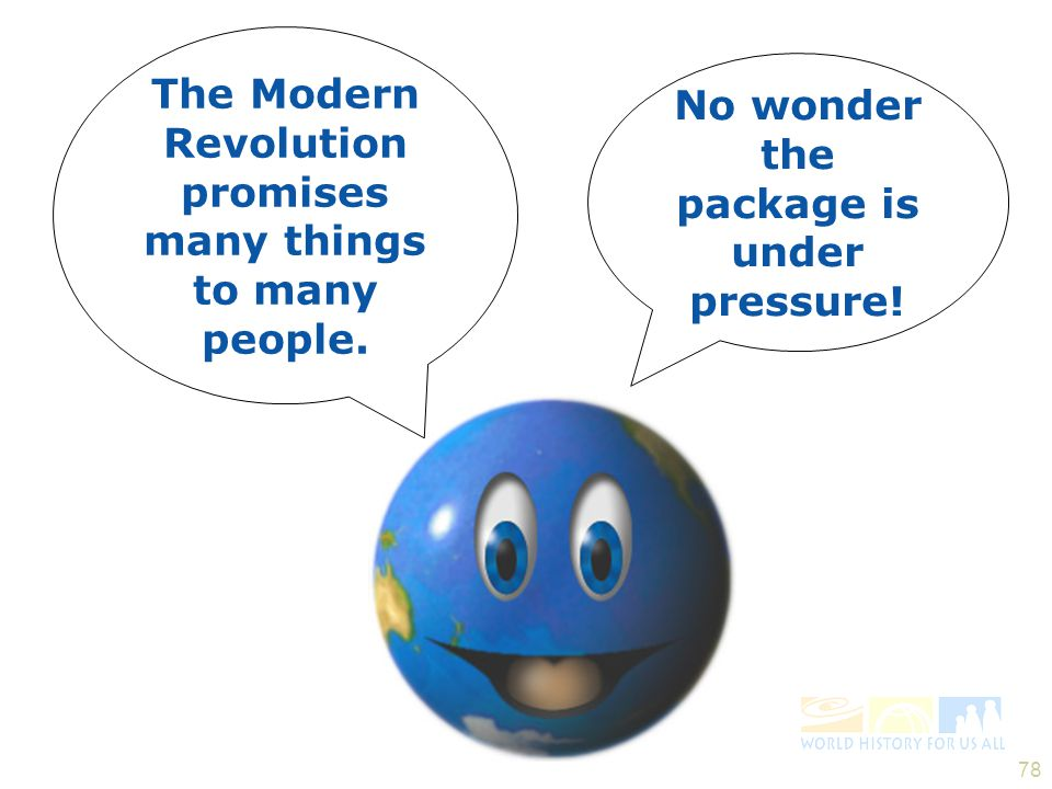 The Modern Revolution promises many things to many people.
