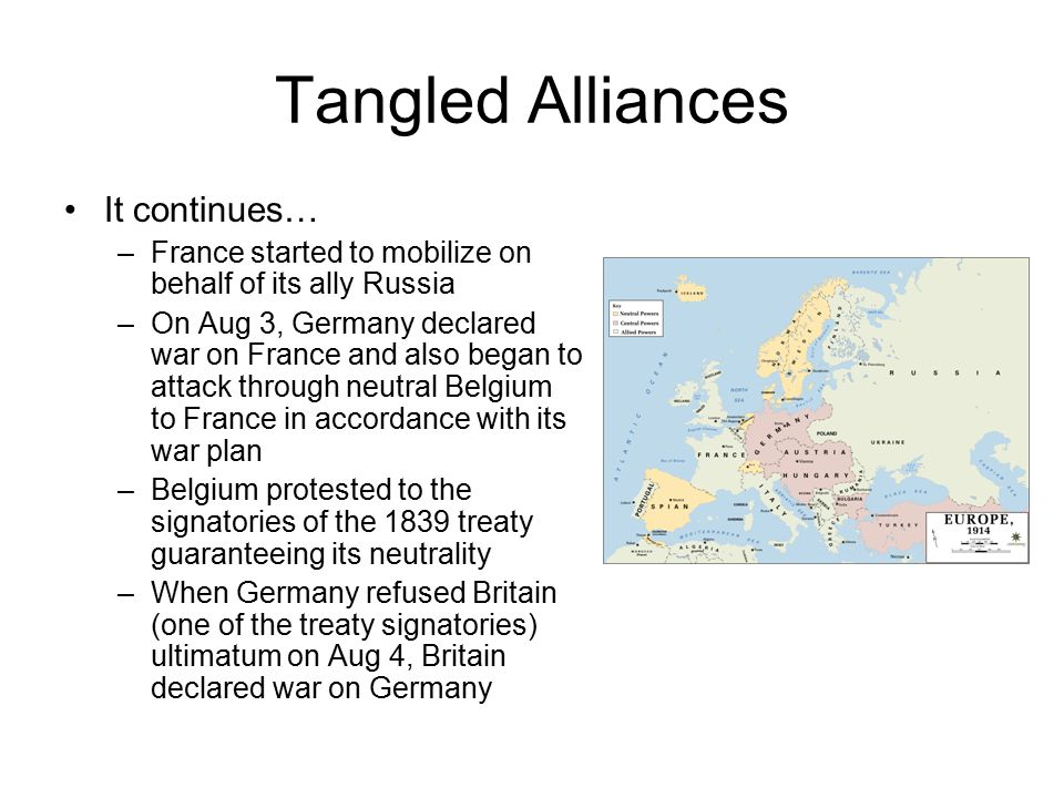 Tangled Alliances It continues…