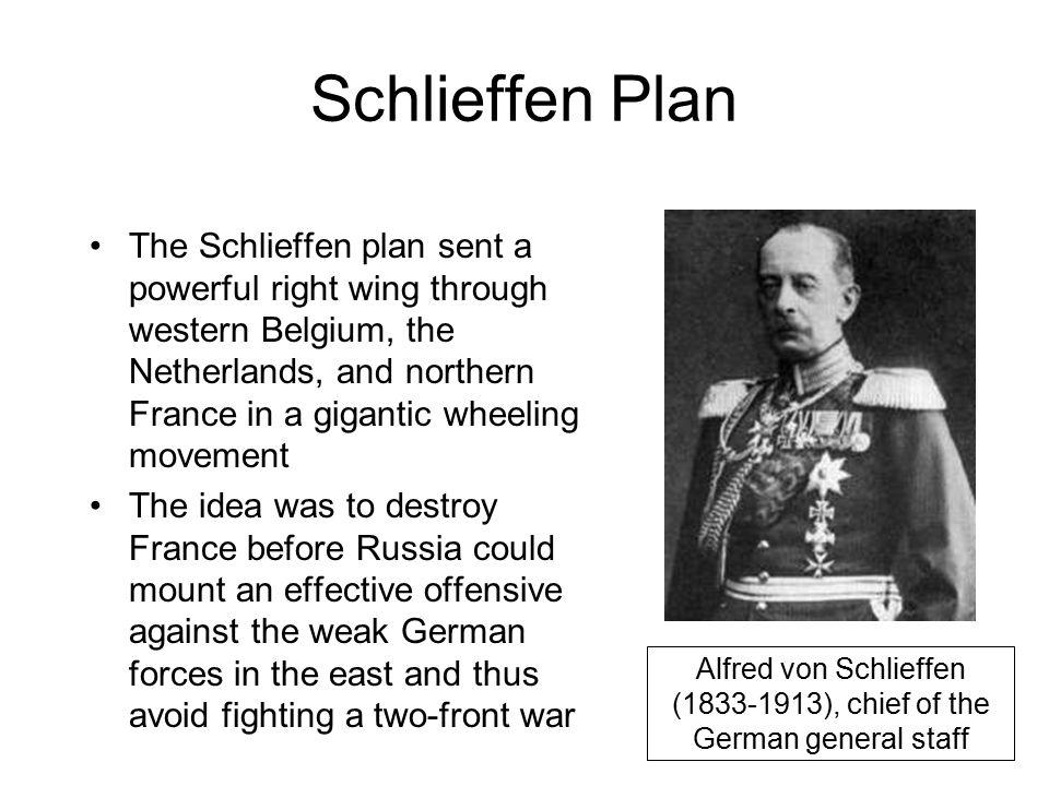 Alfred von Schlieffen (1833-1913), chief of the German general staff