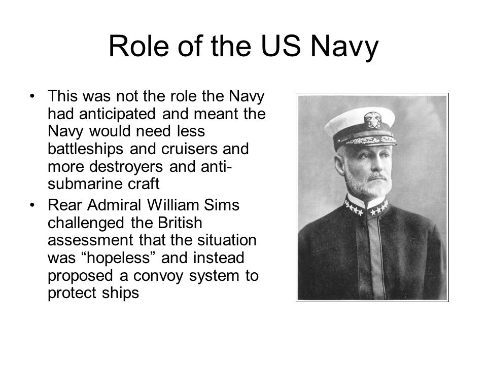 Role of the US Navy
