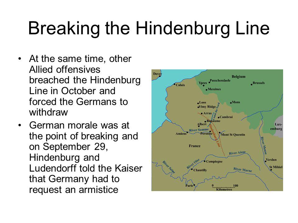 Breaking the Hindenburg Line