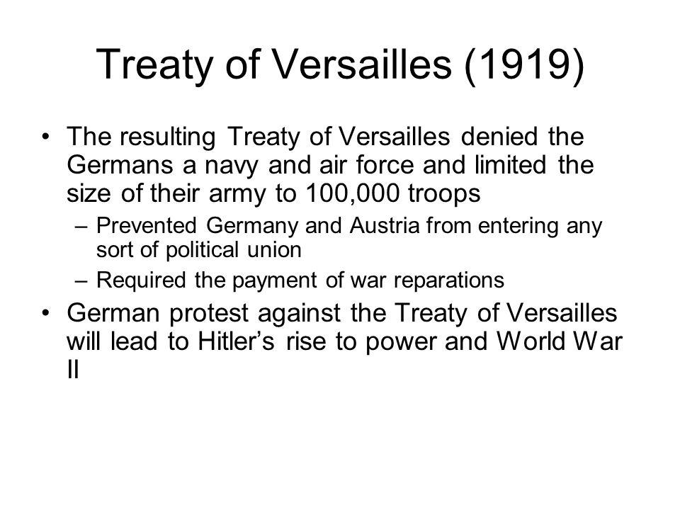Treaty of Versailles (1919)