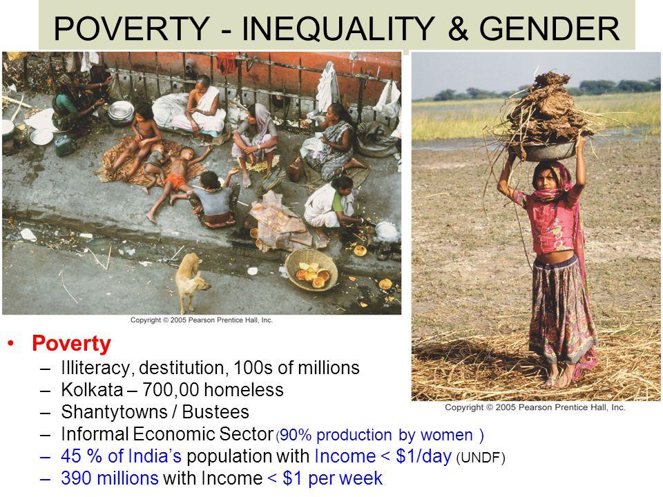POVERTY - INEQUALITY & GENDER