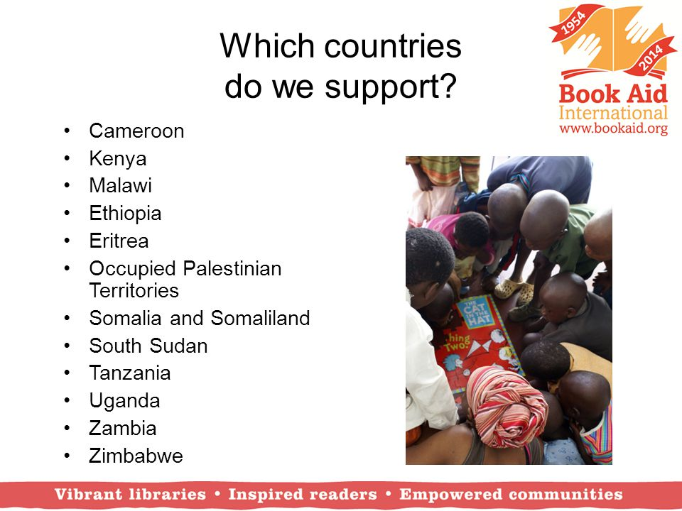 Which countries do we support