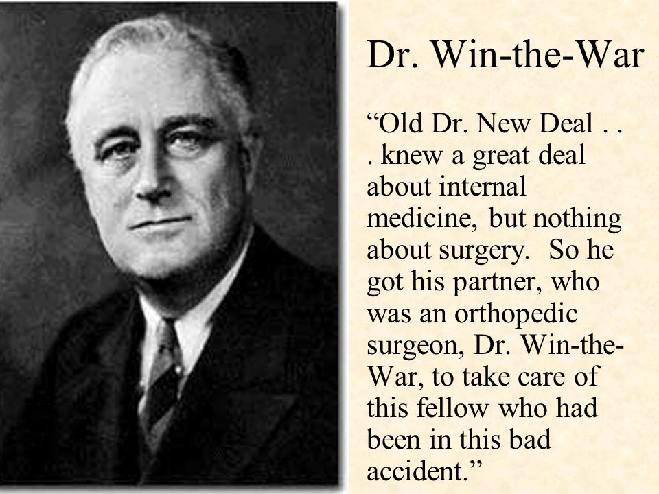 Dr. Win-the-War