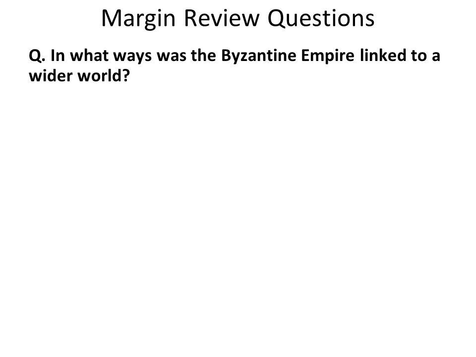Margin Review Questions