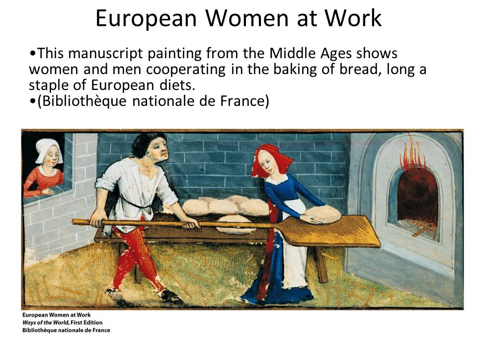 European Women at Work