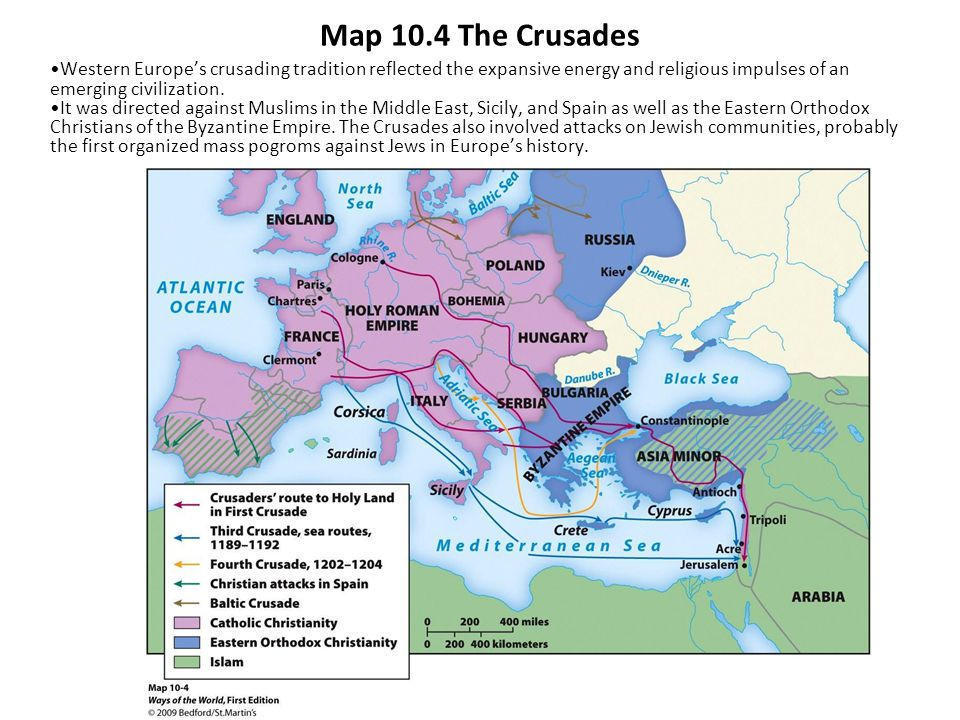 Ways of the world a brief global history first edition ppt download map 104 the crusades western europes crusading tradition reflected the expansive energy and religious impulses of gumiabroncs Gallery