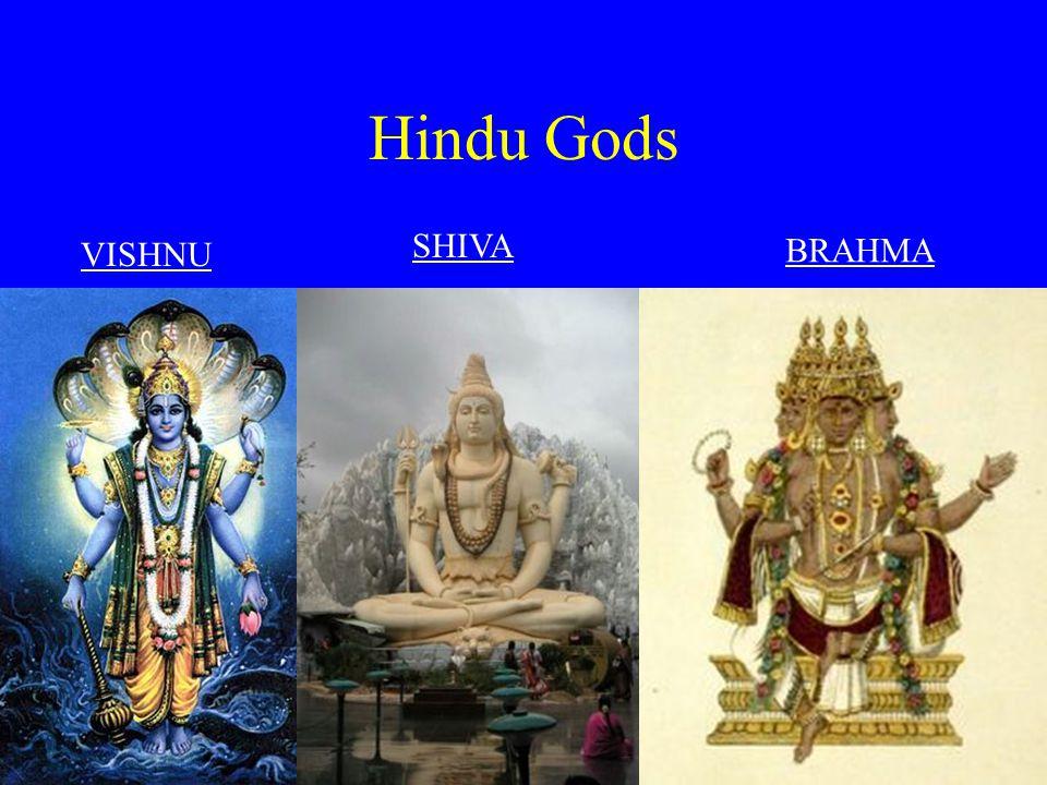 Hindu Gods SHIVA VISHNU BRAHMA