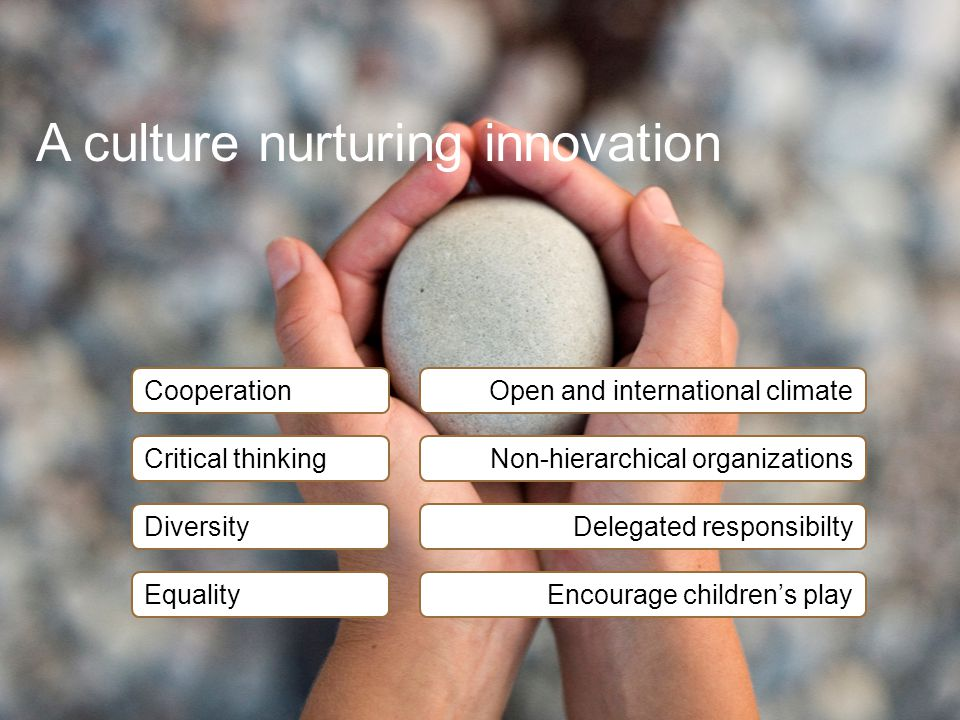 A culture nurturing innovation