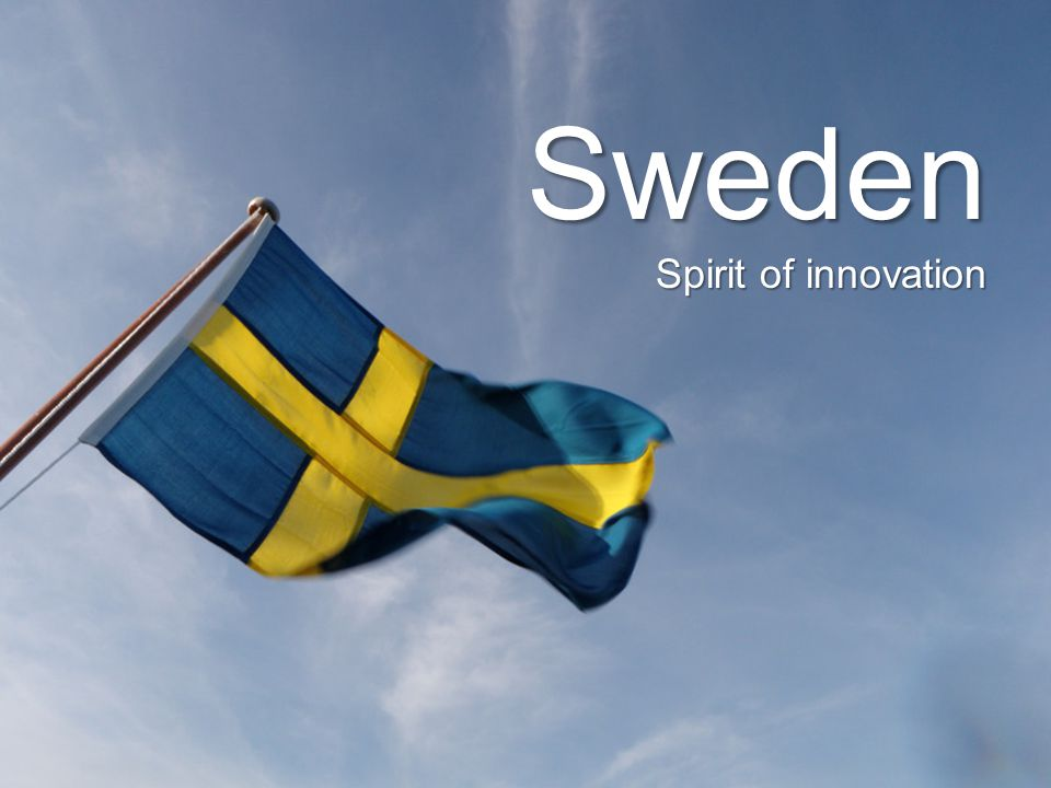 Sweden Spirit of innovation