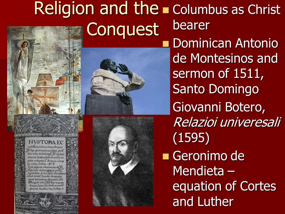 Religion and the Conquest