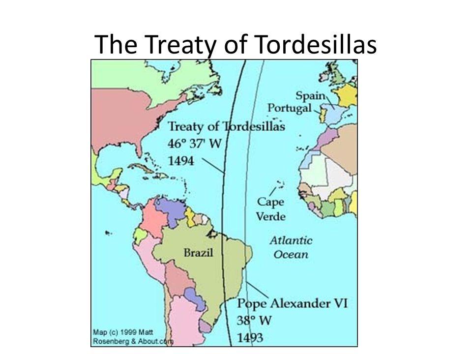 The Treaty of Tordesillas