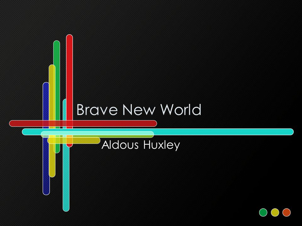 The theme of religion in brave new world by aldous huxley