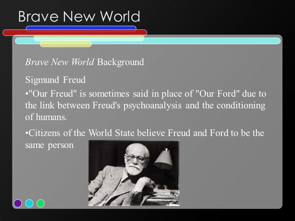 Brave New World Brave New World Background Sigmund Freud