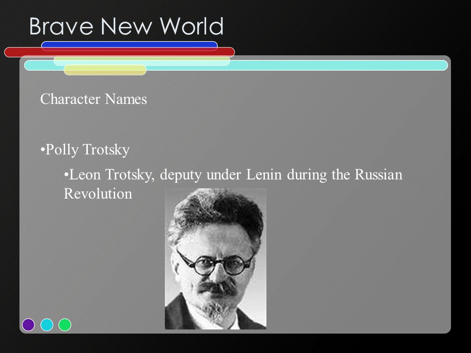 Brave New World Character Names Polly Trotsky